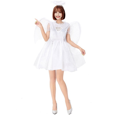 Halloween sexy lace heart angel costume wholesale Nihaojewelry  NHFE422140's discount tags