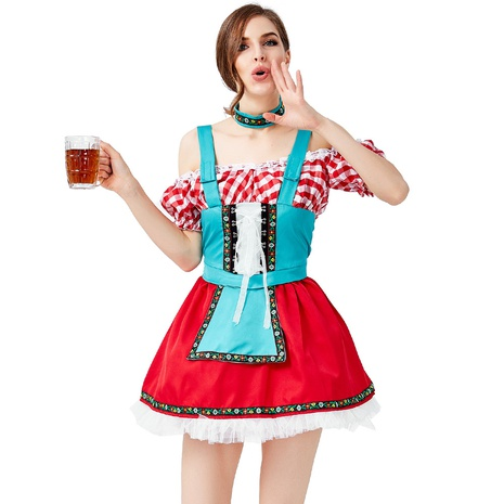 new German traditional beer festival costume wholesale Nihaojewelry  NHFE422143's discount tags