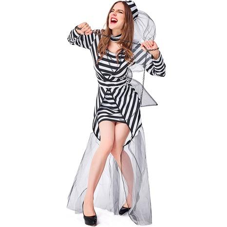 Halloween net yarn prisoner clothes wholesale Nihaojewelry  NHFE422144's discount tags