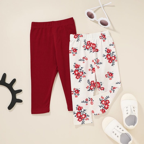 casual baby print trousers wholesale Nihaojewelry NHLF422163's discount tags