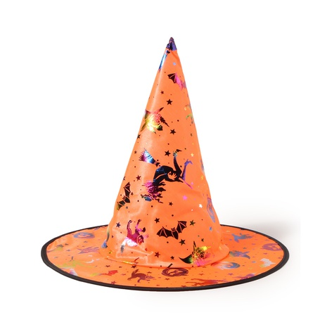 Halloween colorful gold party hats wholesale Nihaojewelry NHTQ422461's discount tags
