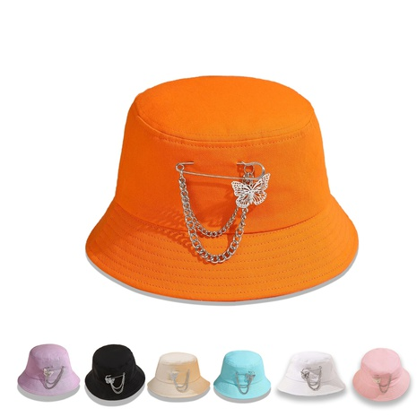 Fischerhut mit breiter Krempe Schmetterlingsnadel Großhandel Nihaojewelry NHTQ422465's discount tags