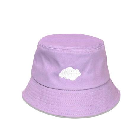 Koreanischer lila Wolkenfischerhut Großhandel Nihaojewelry NHTQ422473's discount tags