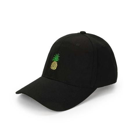 Koreanische Stickerei Ananas Baseballmütze Großhandel Nihaojewelry NHTQ422474's discount tags
