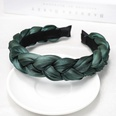 NHOF2020003-Dark-green-sponge-twist-hair-band