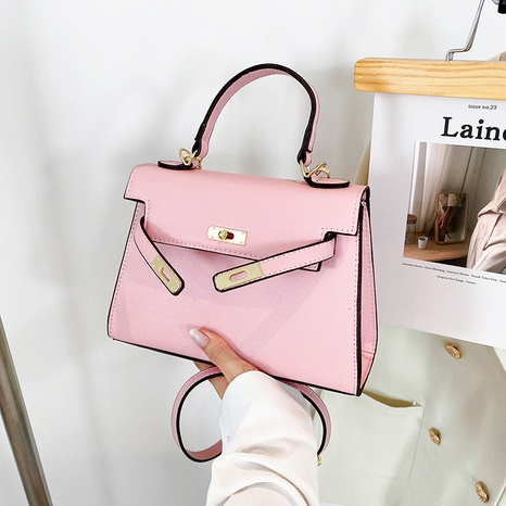 fashion metal buckle solid color underarm bag wholesale Nihaojewelry  NHLH422853's discount tags