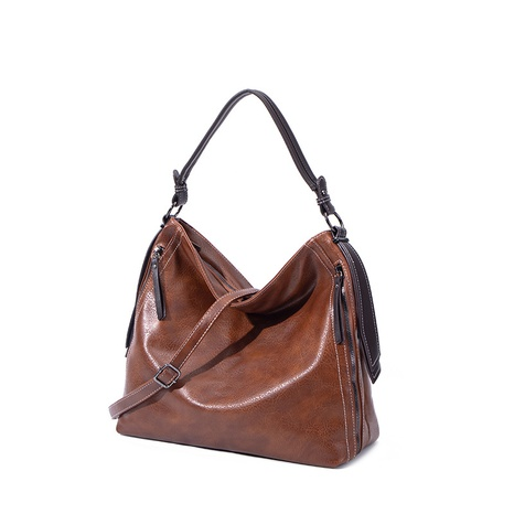 retro large capacity one-shoulder tote bag wholesale Nihaojewelry NHASB422894's discount tags
