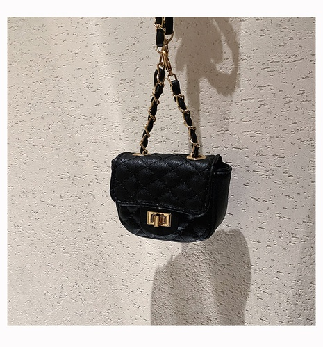 fashion embroidery lock thread shoulder chain mini bag wholesale nihaojewelry NHWH422949's discount tags