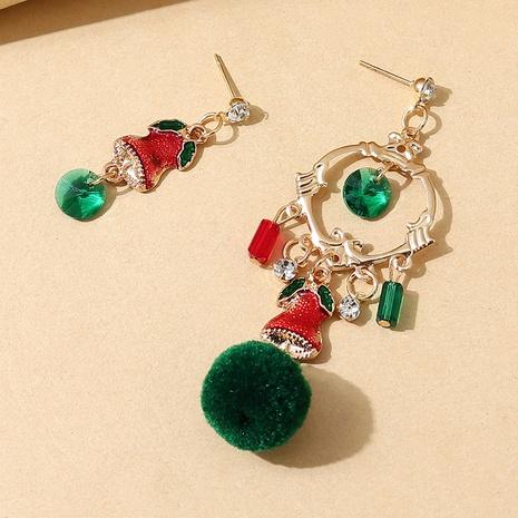 kreative Mode kleine Glocke asymmetrische Ohrringe Großhandel Nihaojewelry NHPS423409's discount tags