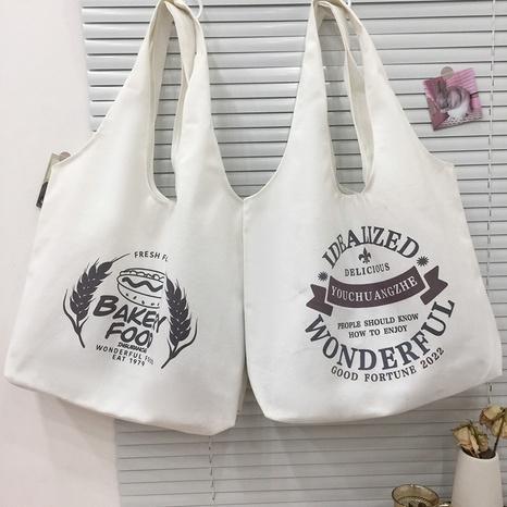 fashion printing large-capacity canvas handbag wholesale Nihaojewelry  NHJZ422960's discount tags