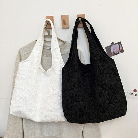 Korean large-capacity lace shoulder tote bag wholesale Nihaojewelry  NHJZ422971's discount tags