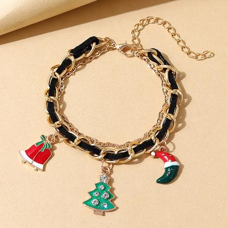 Mode Diamant Weihnachtsbaum geometrische Anhänger Armband Großhandel Nihaojewelry NHPS423393's discount tags