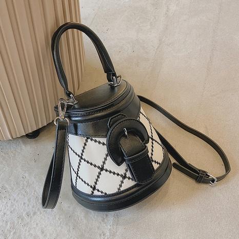 fashion rhombus sewing thread geometric messenger bag wholesale Nihaojewelry  NHGN423111's discount tags