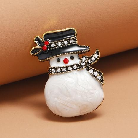Broche de muñeco de nieve navideño al por mayor Nihaojewelry NHKQ424628's discount tags