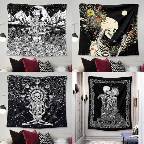 bohemian night moon flower tapestry decoration cloth wholesale nihaojewelry NHZAJ425096's discount tags