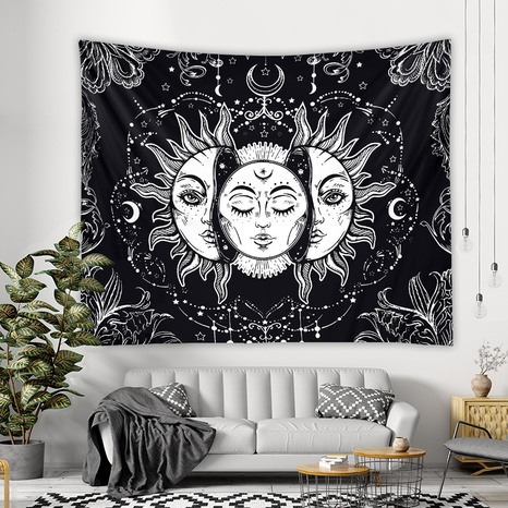 vintage figure contrast color tapestry room decoration background hanging cloth wholesale nihaojewelry NHZAJ425129's discount tags