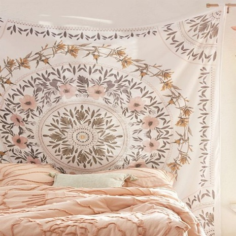 vintage bohemian flower tapestry room decoration background cloth wholesale nihaojewelry NHZAJ425131's discount tags