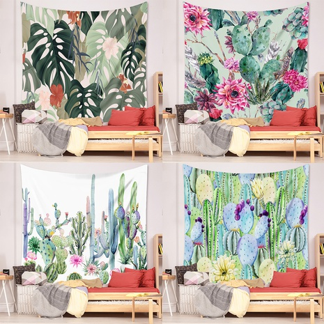 New tropical plant printing home wall decoration wholesale Nihaojewelry  NHZAJ425132's discount tags