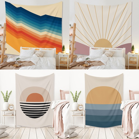 Color Sun Series Tapestry Home Decoration wholesale Nihaojewelry NHZAJ425140's discount tags