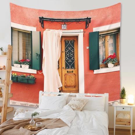 Bohemian style window view series printed tapestry wholesale Nihaojewelry NHZAJ425141's discount tags