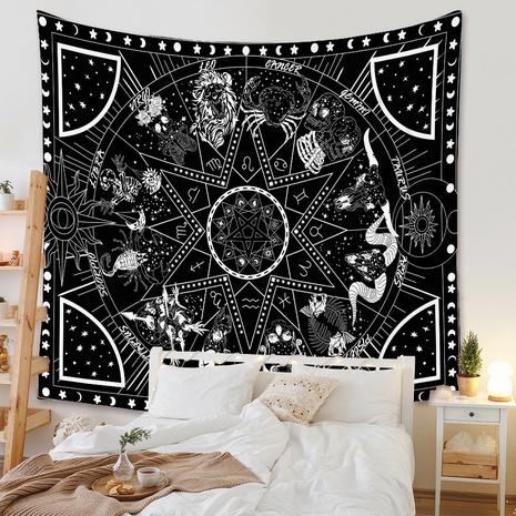 bohemian style geometric printed tapestry wholesale Nihaojewelry NHZAJ425147's discount tags
