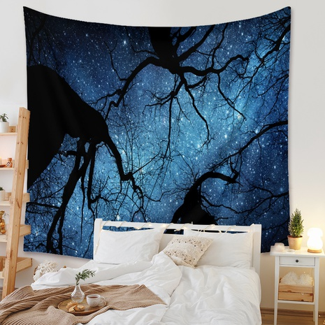 vintage upholstery background hanging cloth forest tapestry wholesale nihaojewelry NHZAJ425156's discount tags