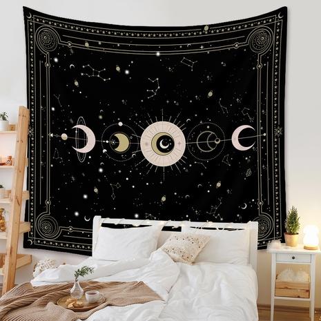 bohemian tapestry room decoration decorative cloth star moon printing wholesale nihaojewelry NHZAJ425159's discount tags