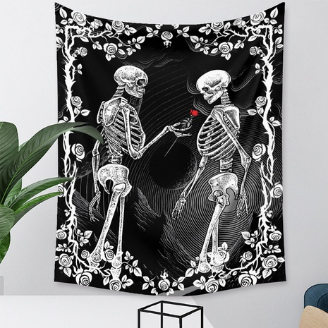 Bohemian skull printing tapestry decorative cloth wholesale Nihaojewelry  NHZAJ425160's discount tags