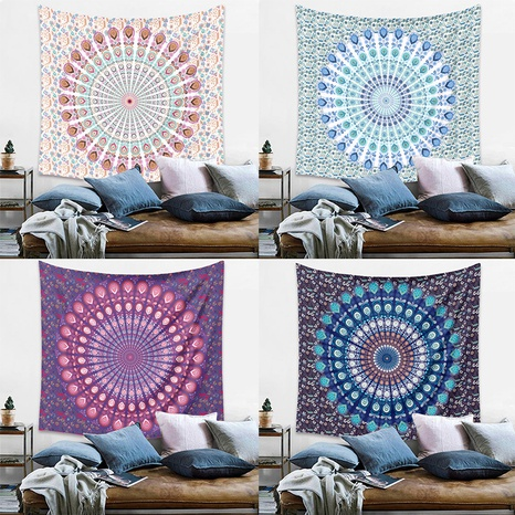 bohemian mandala printing home bedroom decoration background cloth wholesale Nihaojewelry  NHZAJ425165's discount tags