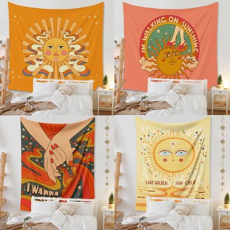 bohemian cartoon printing tapestry room decoration background cloth wholesale Nihaojewelry  NHZAJ425166's discount tags