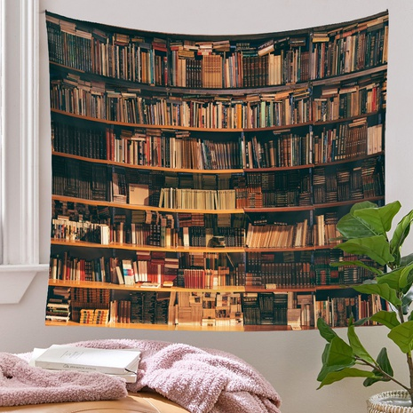 psychedelic bookshelf pattern tapestry wholesale nihaojewelry  NHQYE425174's discount tags