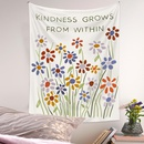 Bohemian style flower moon phase diagram room decoration tapestry wholesale nihaojewelry  NHQYE425179