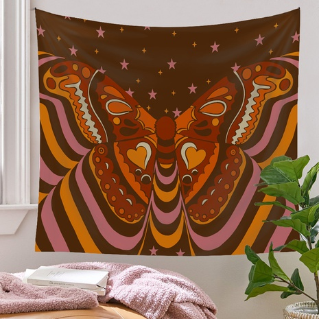 psychedelic butterfly Tarot card pattern room decoration tapestry wholesale nihaojewelry  NHQYE425184's discount tags