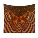 psychedelic butterfly Tarot card pattern room decoration tapestry wholesale nihaojewelry  NHQYE425184