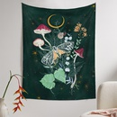 Bohemian Tapestry Room Decoration Wall Cloth Flower Jungle Painting Wholesale Nihaojewelry NHQYE425186