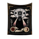 vintage tapestry room decoration skull pattern hanging cloth wholesale nihaojewelry NHQYE425187