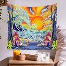 Bohemian Tapestry Room Decoration Wall Cloth Ocean Sun Painting Wholesale Nihaojewelry NHQYE425188