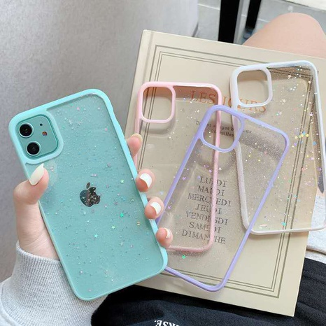 Candy Color Acrylic Phone Case Wholesale Nihaojewelry NHKAT425607's discount tags