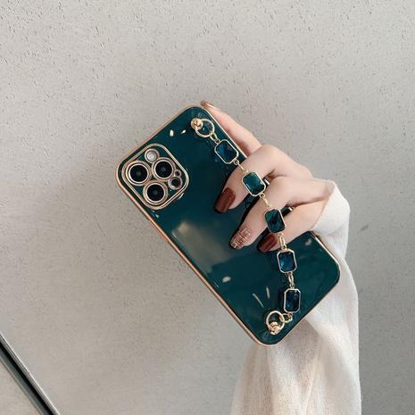 Sapphire bracelet  Apple mobile phone case wholesale Nihaojewelry NHKAT425636's discount tags