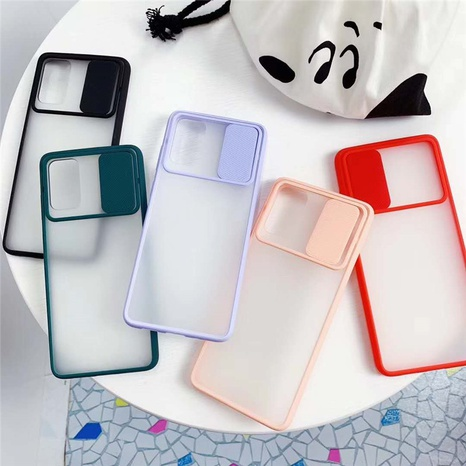 frosted push-pull mobile phone case wholesale Nihaojewelry NHKAT425642's discount tags