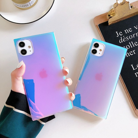 Colorful laser purple mobile phone case wholesale Nihaojewelry  NHKAT425644's discount tags