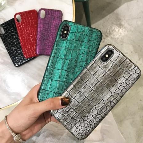 retro crocodile pattern mobile phone case wholesale Nihaojewelry  NHKAT425647's discount tags