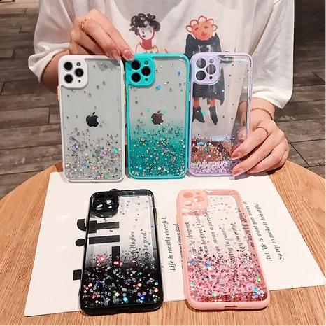 fashion glitter epoxy mobile phone case wholesale Nihaojewelry NHKAT425649's discount tags