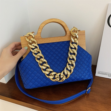 fashion metal thick chain large-capacity messenger cloud bag wholesale Nihaojewelry  NHLH425718's discount tags