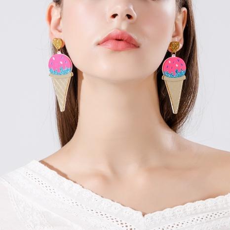 Mode Eis am Stiel Ohrringe Großhandel Nihaojewelry NHQC426381's discount tags