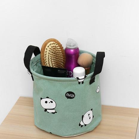 Mode Baumwolle und Leinen Desktop-Aufbewahrungskorb für kleine Gegenstände Großhandel Nihaojewelry NHQMH426151's discount tags