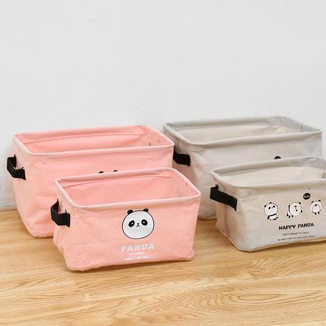 einfacher Panda-Druckstoff, der quadratische Schachtel faltet Großhandel Nihaojewelry NHQMH426154's discount tags