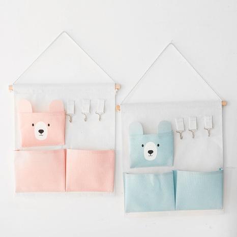 Mode einfarbig Ohr Bär Wandbehang 3 Taschen hängende Tasche Großhandel Nihaojewelry NHQMH426156's discount tags