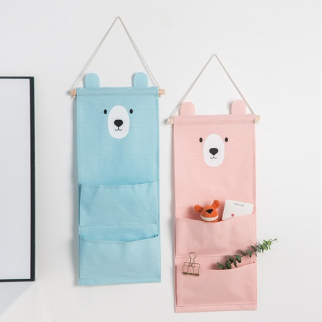 Bear Series Printing Large Two Pocket Storage Hanging Bag Großhandel Nihaojewelry NHQMH426158's discount tags