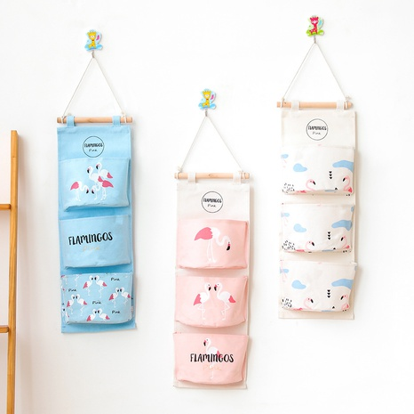 Mode Flamingo Serie Druck Halbkreis drei Taschen hängende Tasche Großhandel Nihaojewelry NHQMH426161's discount tags